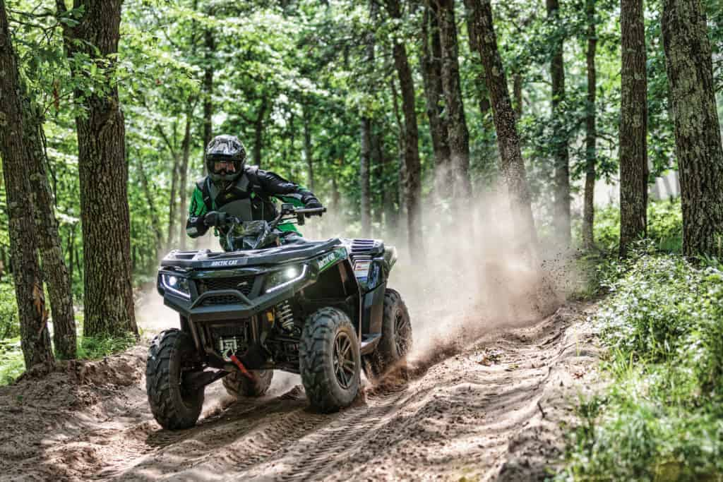 ATVing in Thief River Falls. Photo courtesy of Arctic Cat Inc.