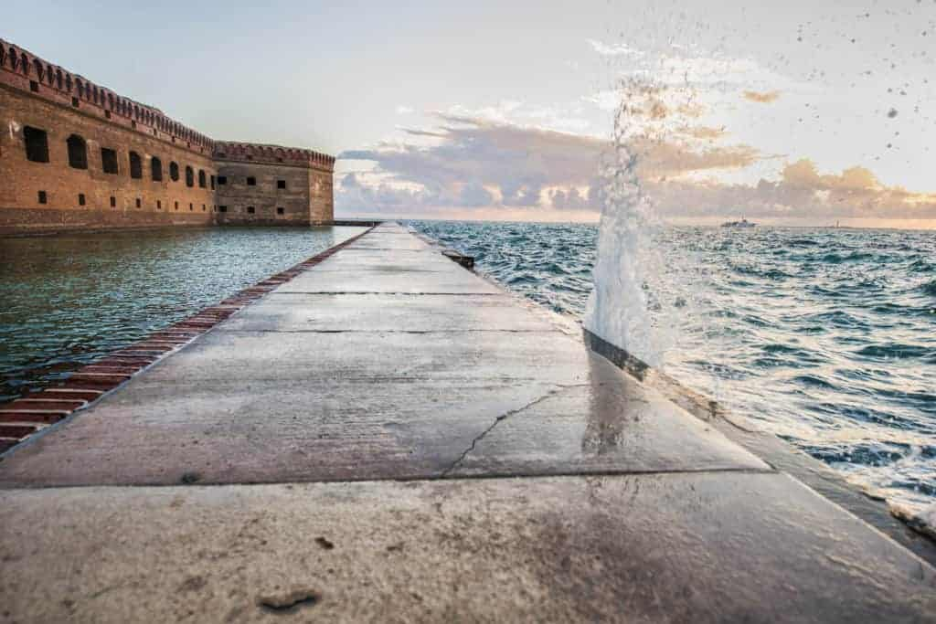 Fort Jefferson in Dry Tortugas National Park.