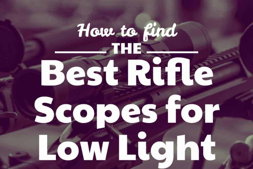 Best Rifle Scopes for Low Light