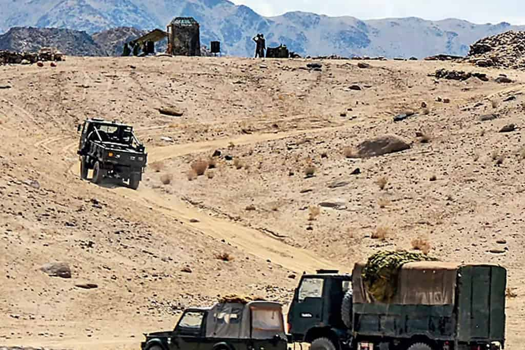 China switches to unmanned Equipment for LAC Readiness