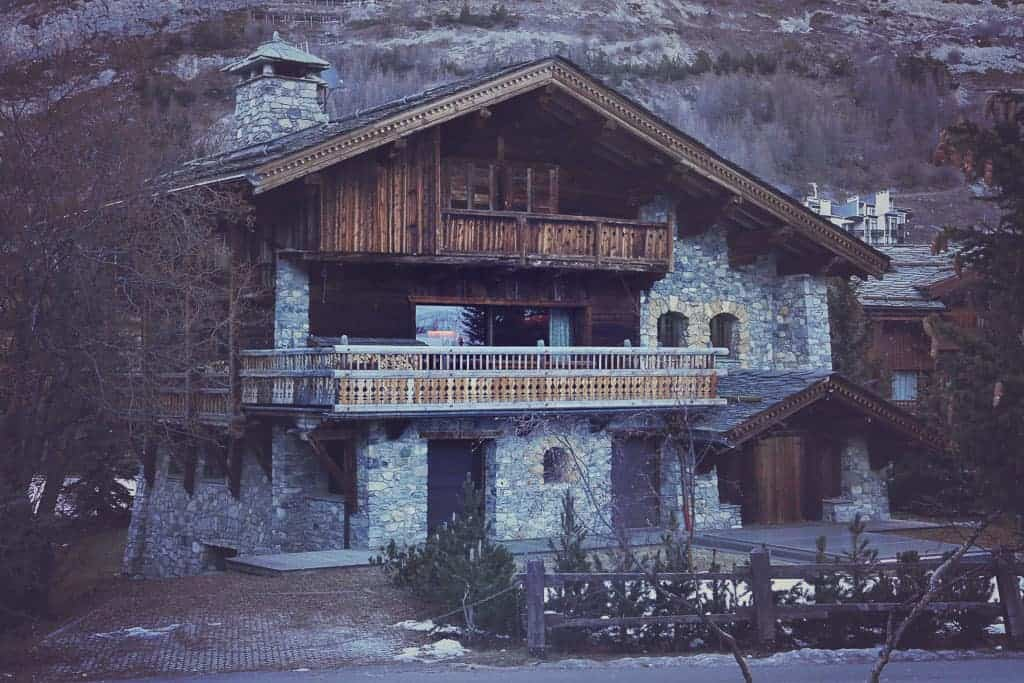 A chalet in Val d'Isere