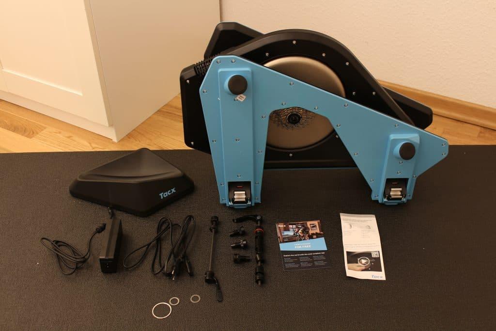 Lieferumfang vom Tacx NEO 2 Smart Trainer