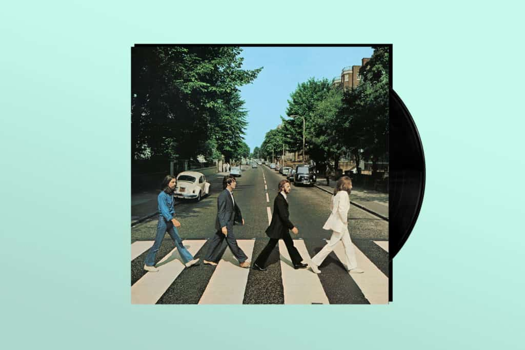 My First Vinyl Record: 'Abbey Road'