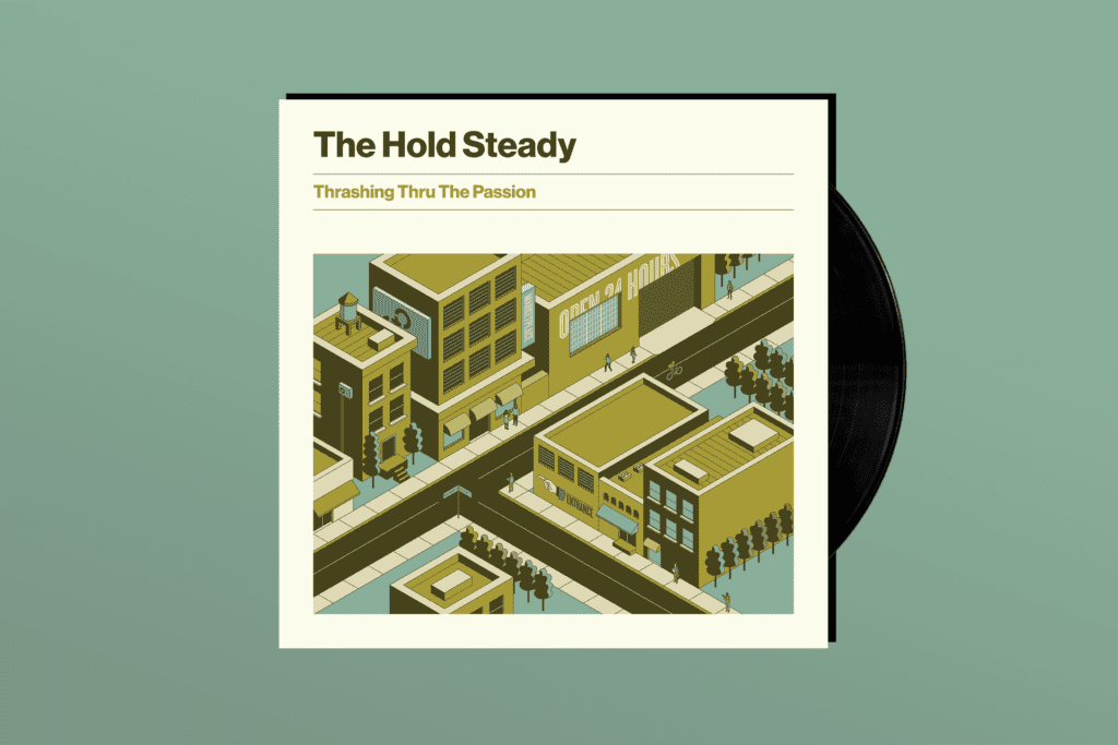 ALBUM REVIEW: The Hold Steady Keeps on Trucking on 'Thrashing Thru The Passion'