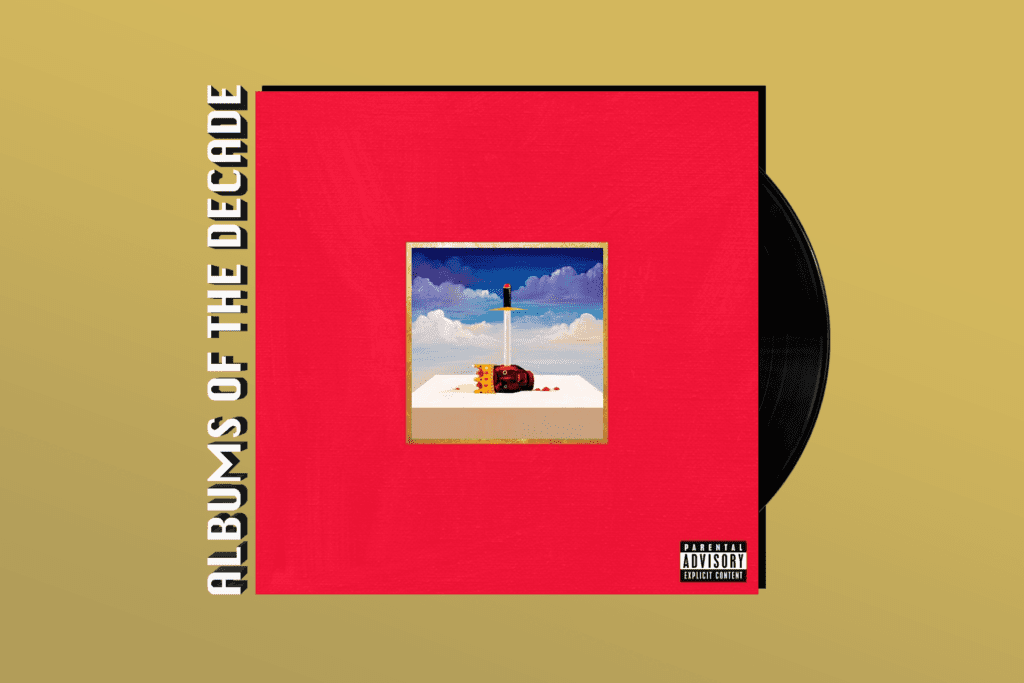 ALBUMS OF THE DECADE: Kanye West's 'My Beautiful Dark Twisted Fantasy'