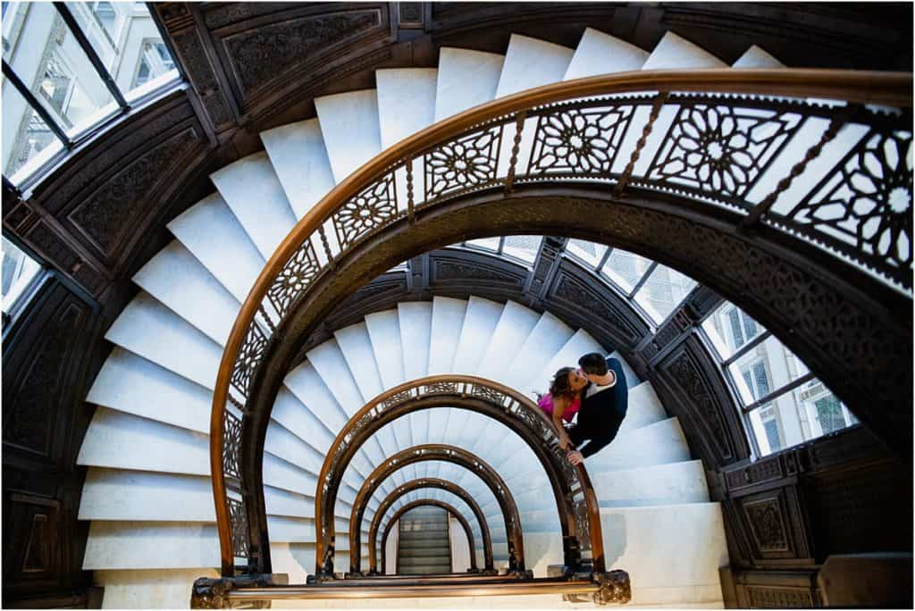 The Rookery Building Engagement Session