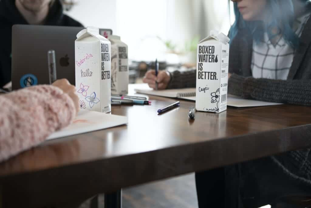 boxed water research