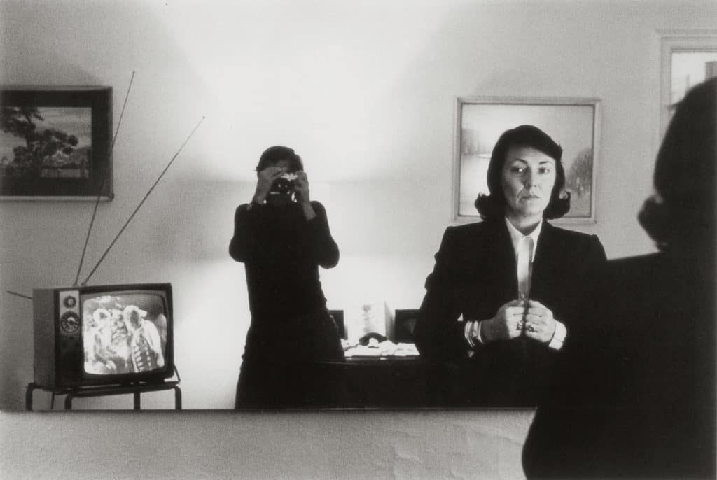 June Newton and the Helmut Newton at Hotel Volney, New York, 1982
