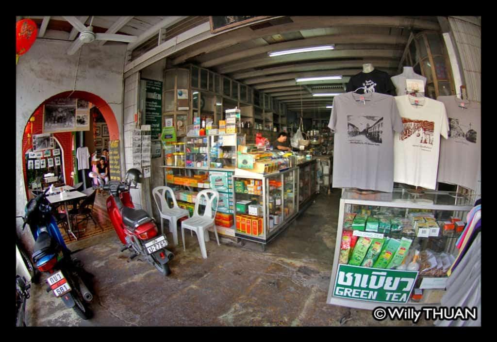 Phuket oldest pharmacy on Thalang Road