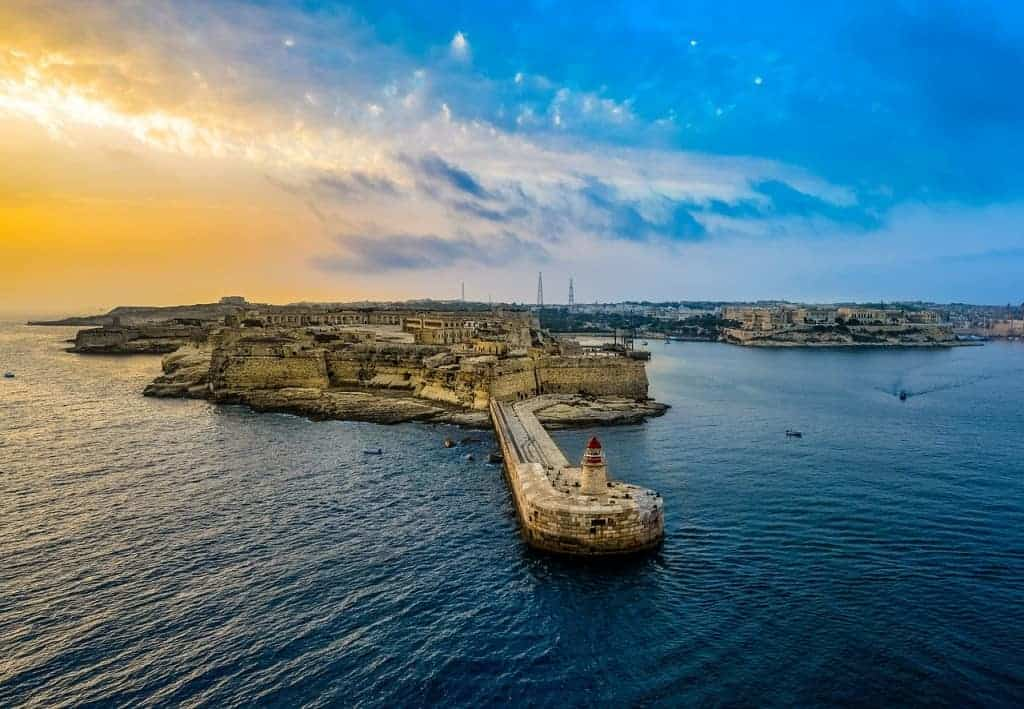 romantic place Malta