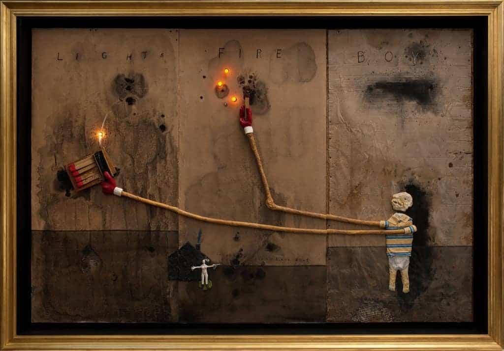 David Lynch - Boy Lights Fire - 2010
