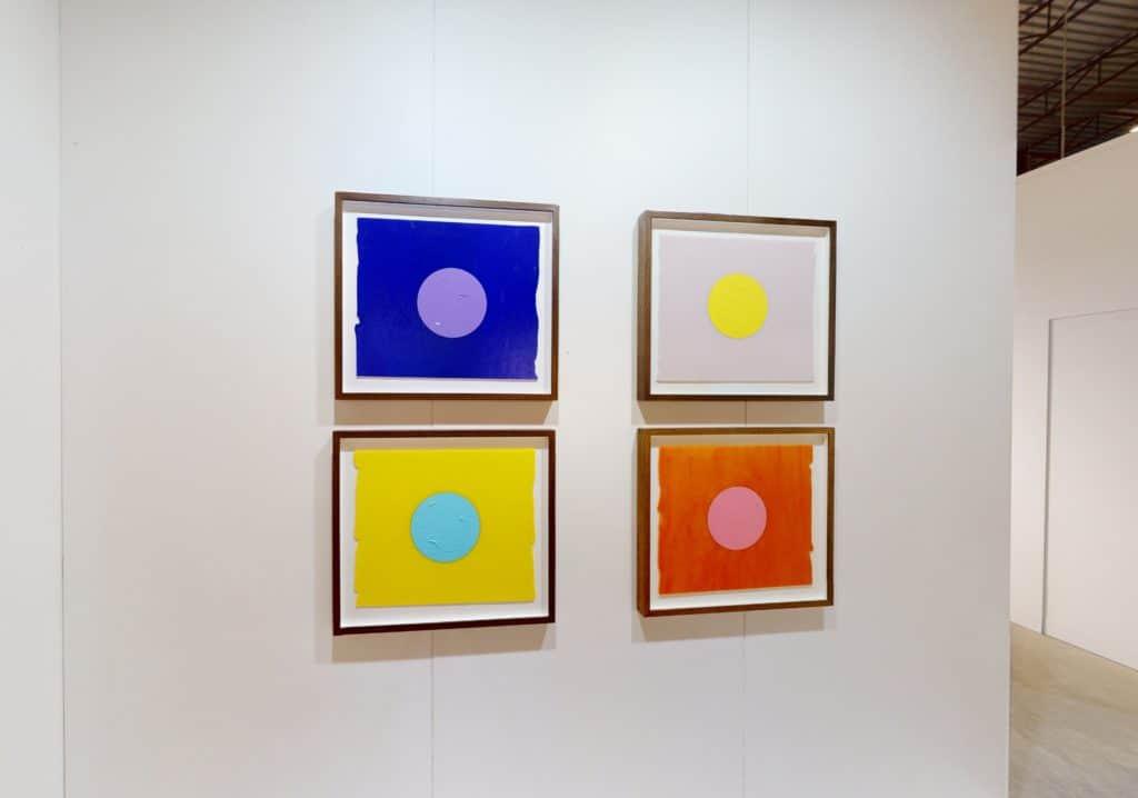 Mads Gamdrup at Enter Art Fair, Installation View, Nils Stærk