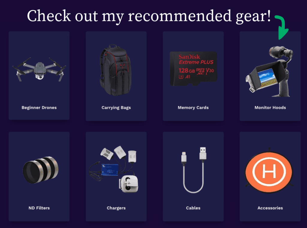 recommended drone gear