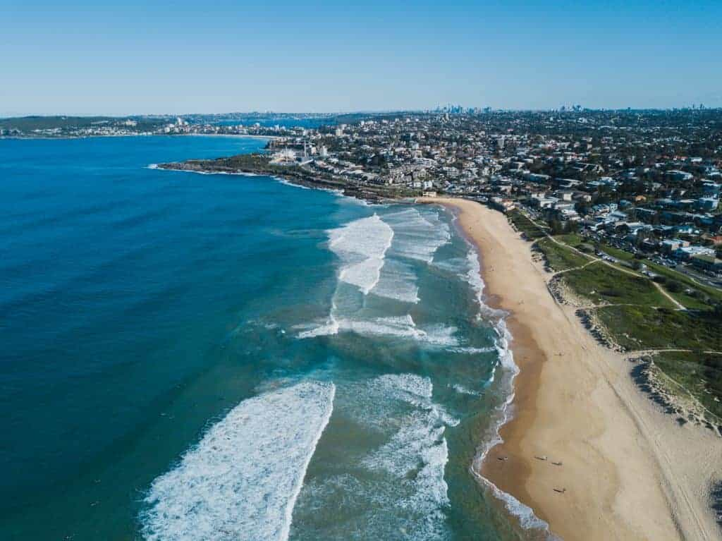 Sydney Skyline on the Horizon  Drone Photography tips