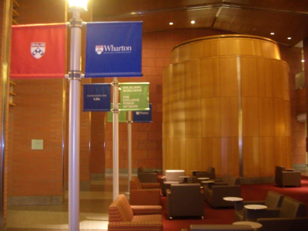 Get insights into the Wharton application