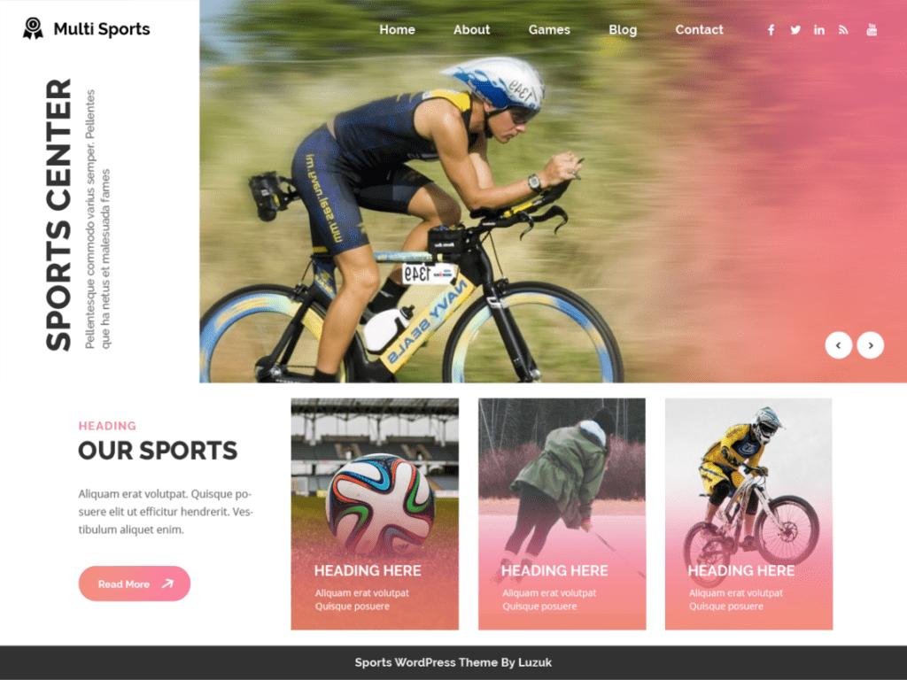 multisport theme