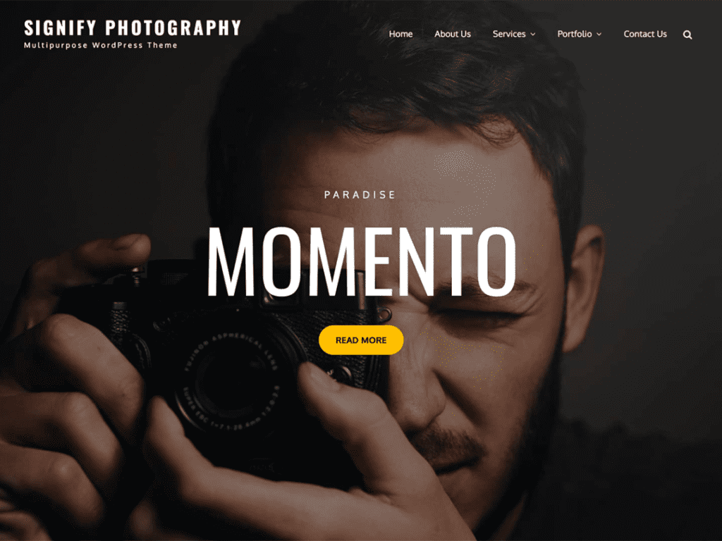 Signify Photography is a simple,
