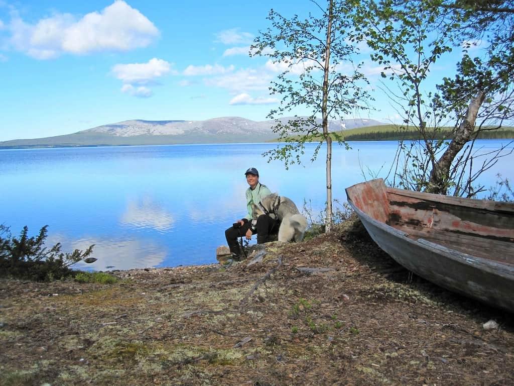 Finnisch-Lappland: Marion liebt ihr neues Leben im hohen Norden
