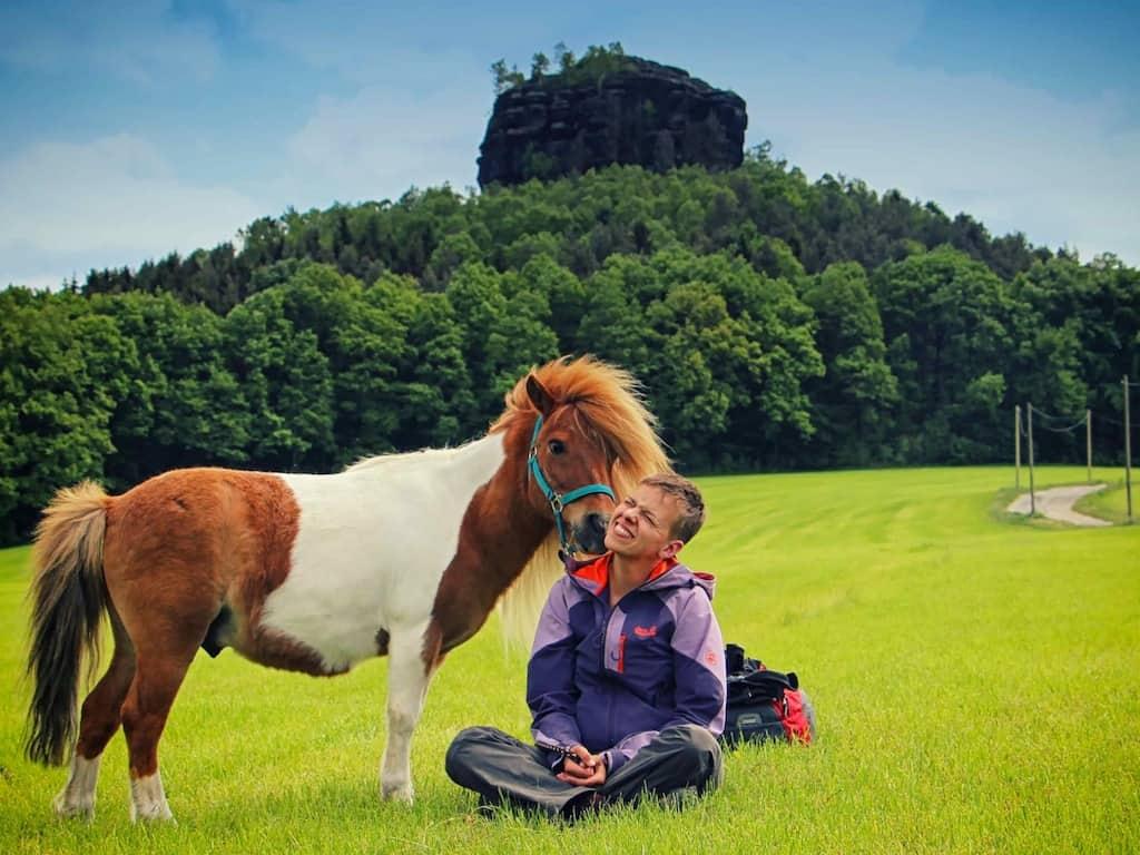 Wandern mit Pferd: Hier in Sachsen
