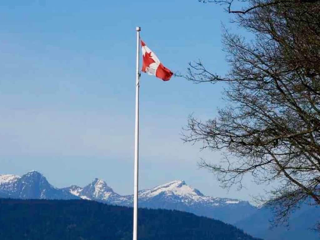 Work and Travel in Kanada: Flagge