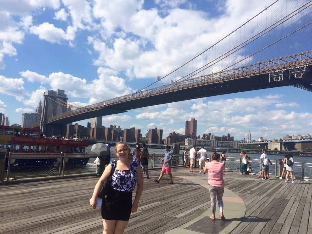 Bianca Brooklyn Bridge New York