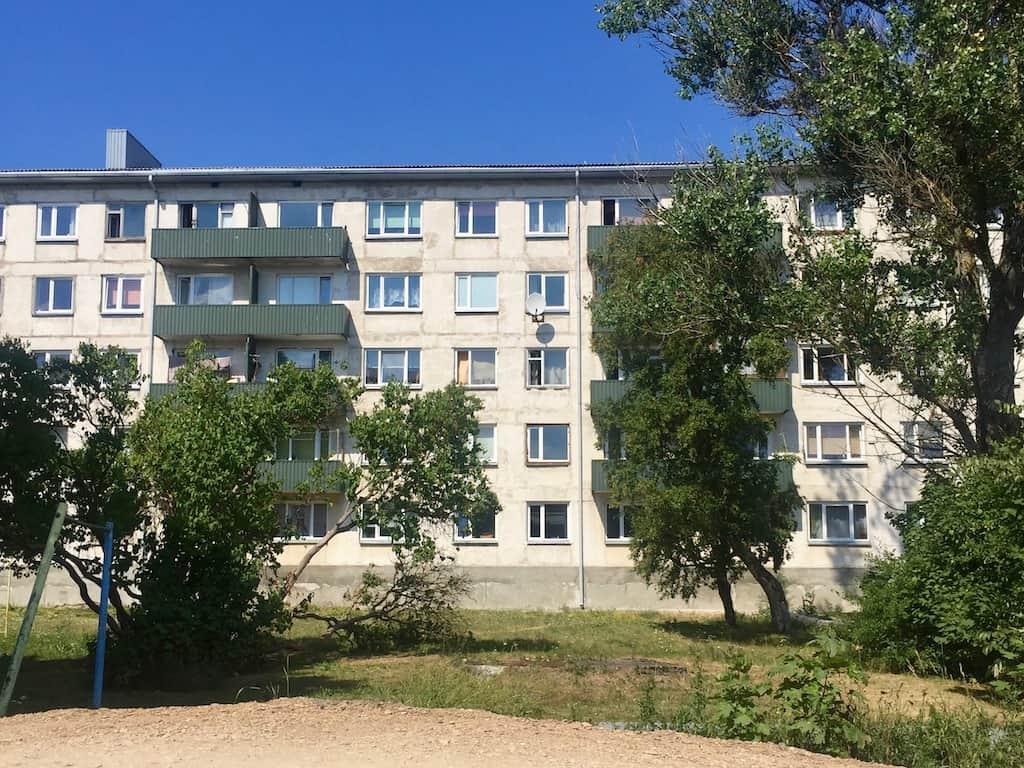 Paldiski Estland Plattenbauten