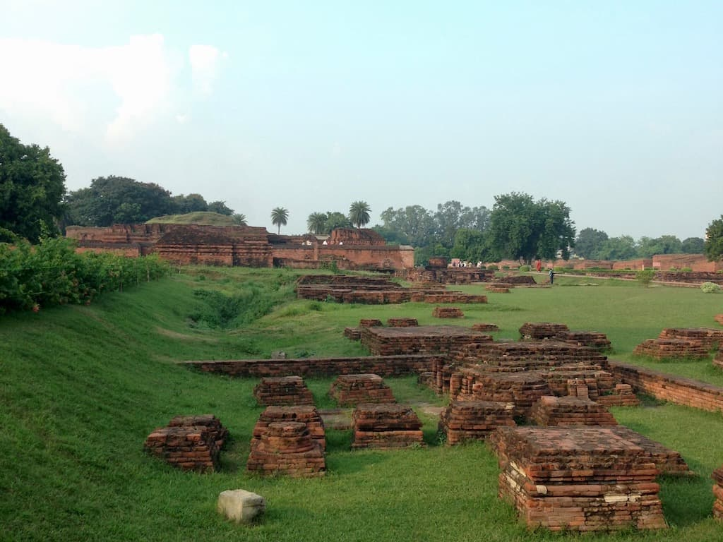 In Nalanda stand eine buddhistische Universität