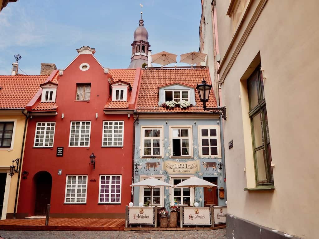 Die makellose Altstadt zählt zu den schönsten Riga Sehenswürdigkeiten