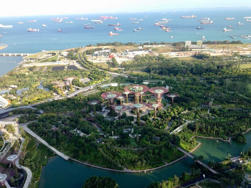 Tigerstaaten sind geprägt von futuristischen Bauten wie Singapur