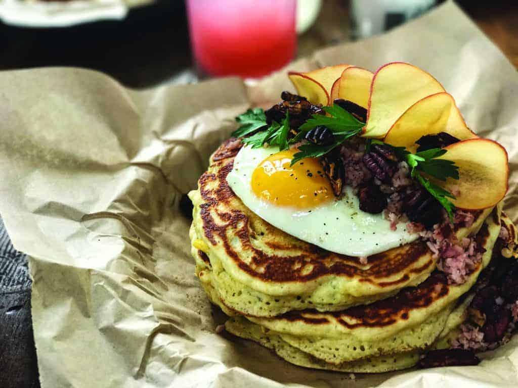 Pancake Stack at Holy Roller.