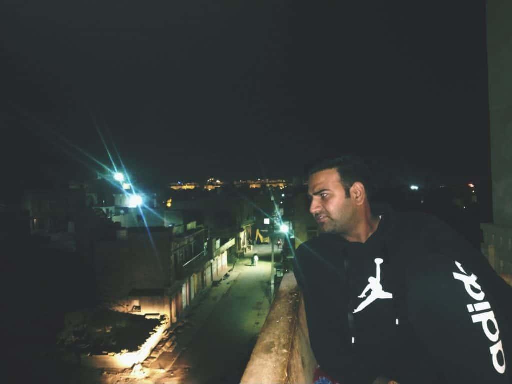 Jaisalmer Fort In Background