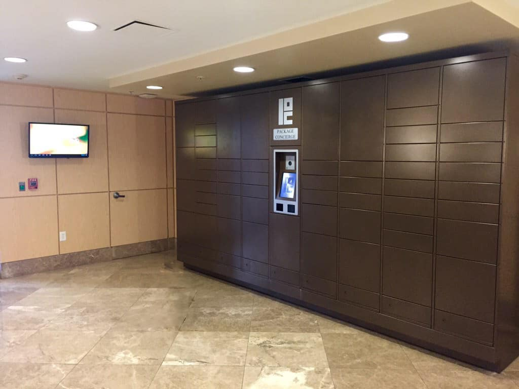 Package Concierge in Apartment Entry