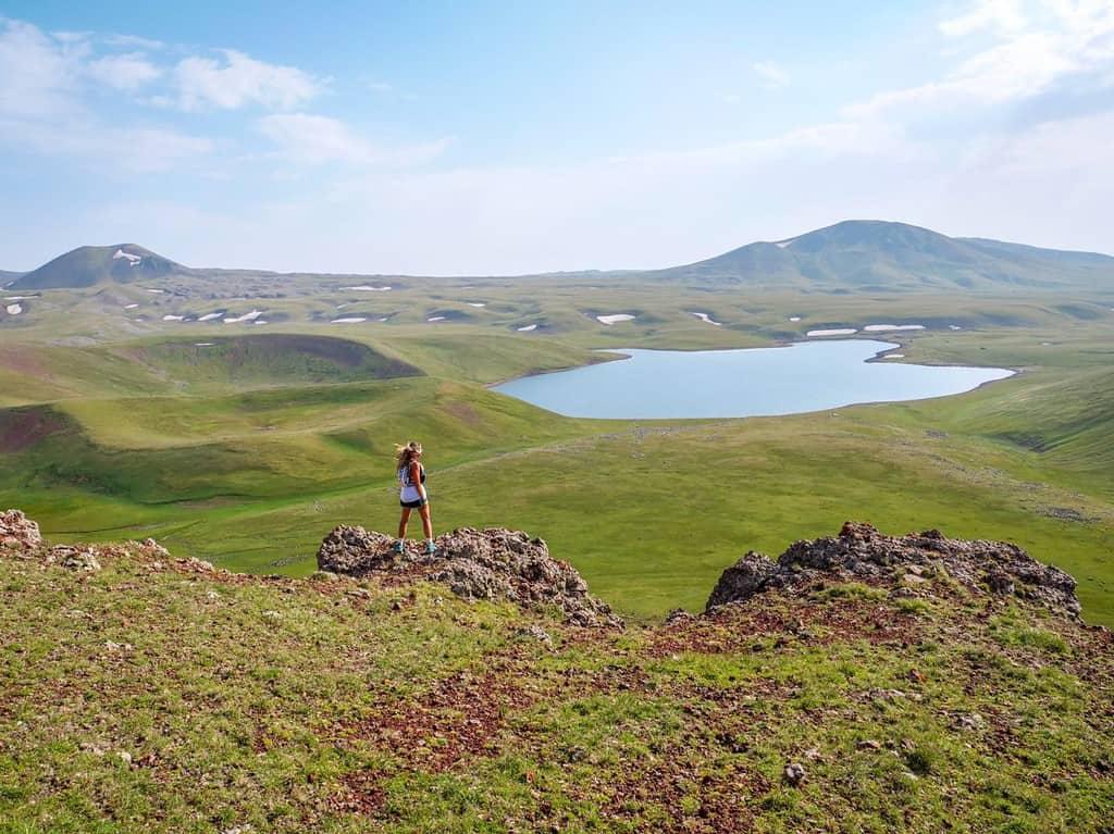 נופים של אזור סיוניק, דרומית לארמניה