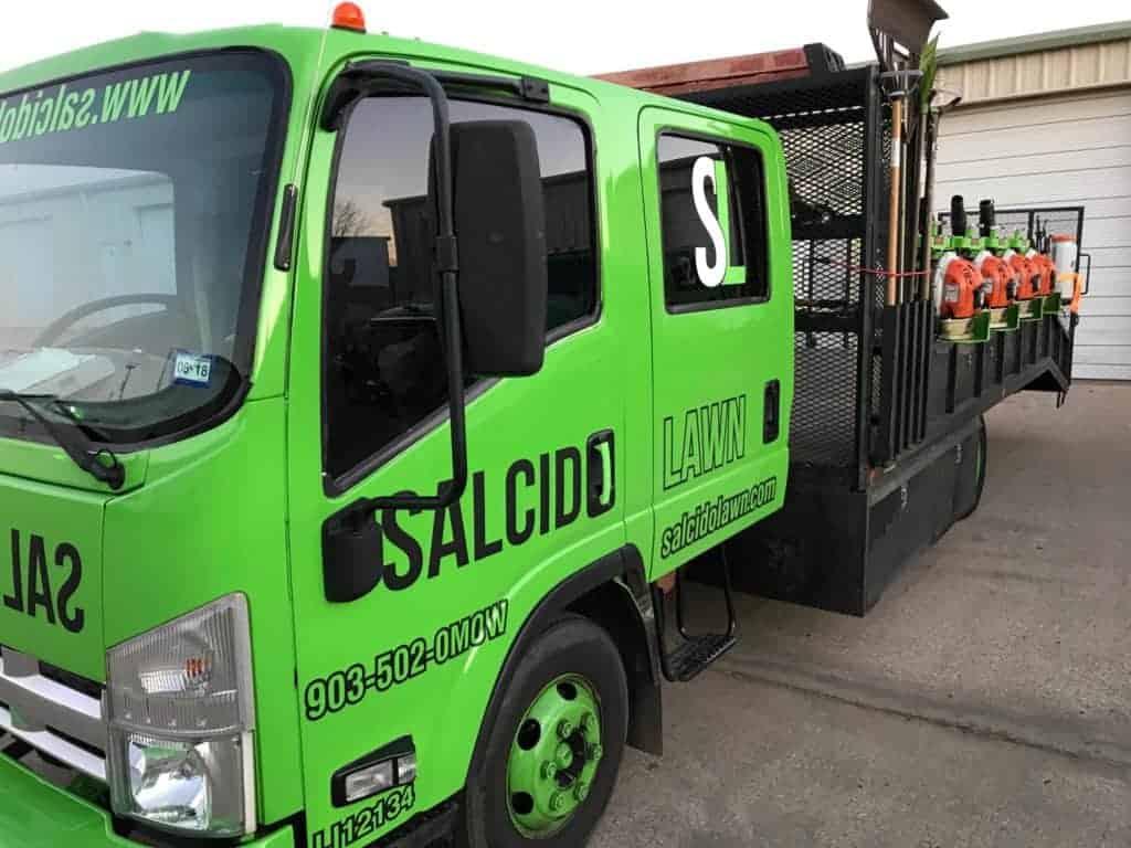 Lawn Care Painting Trucks - Salcido