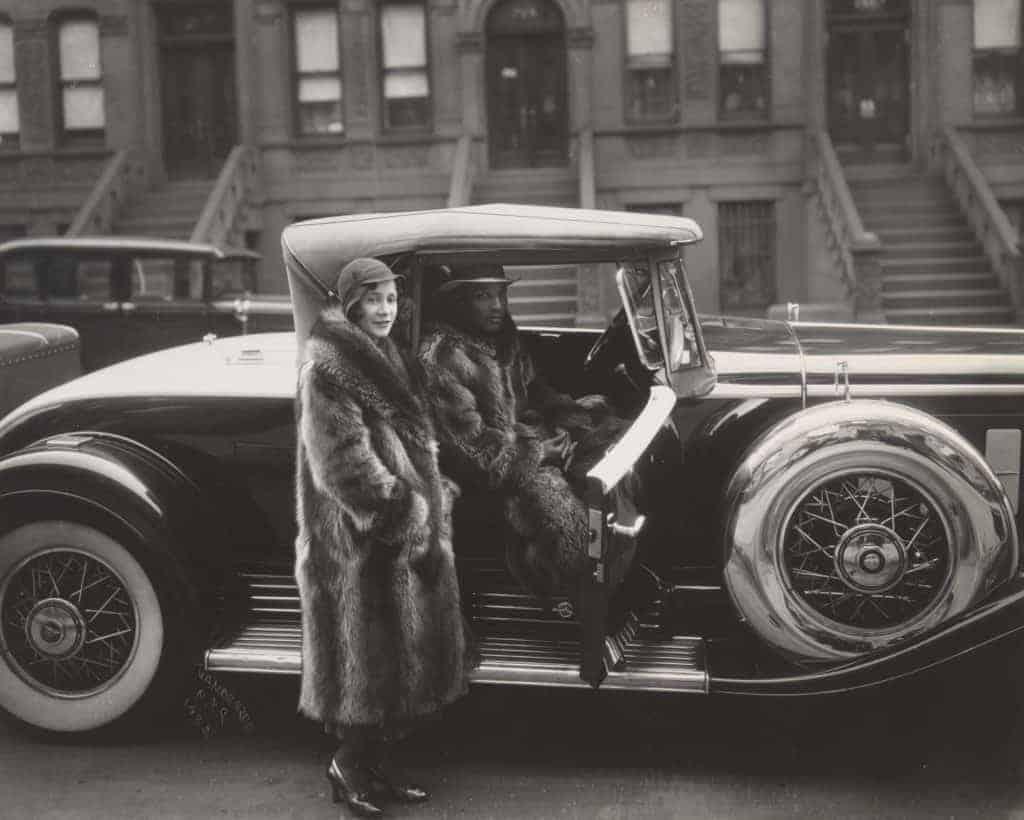 James Van Der Zee - Harlem Couple - 1932
