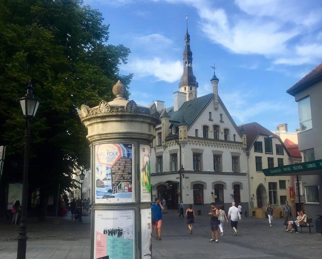 Die hübsche Altstadt von Tallinn