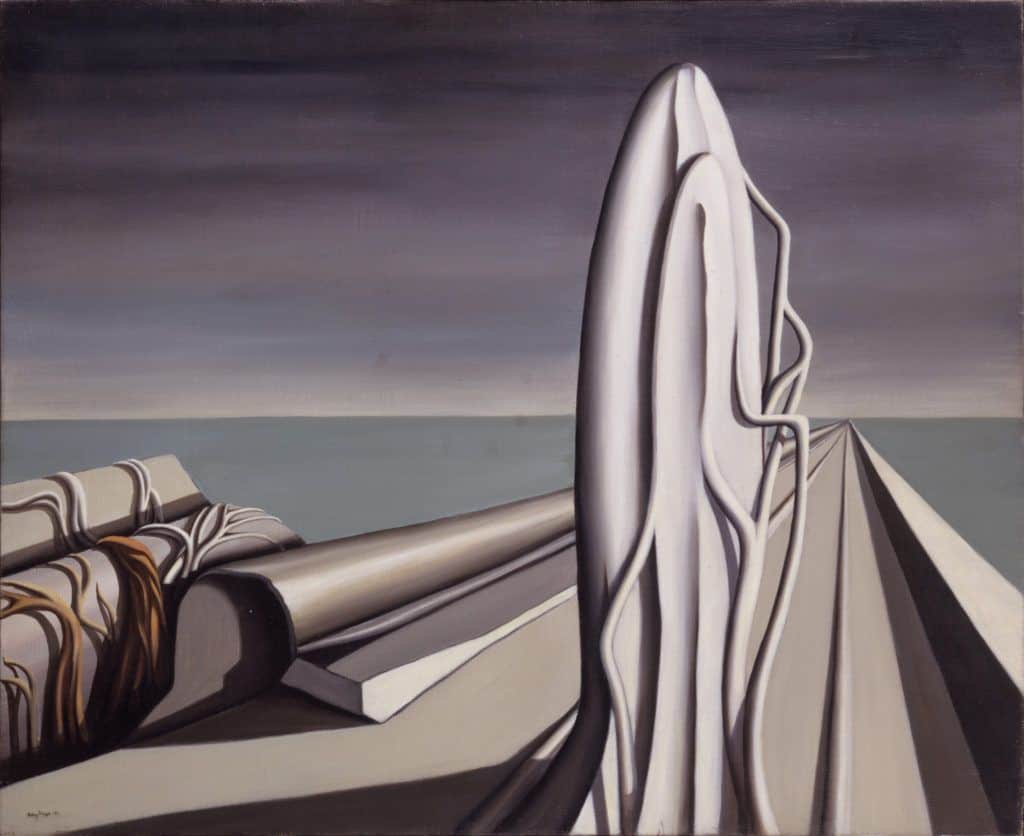 Kay Sage, At the Appointed Time, 1942