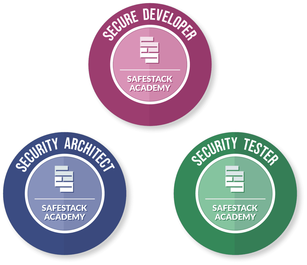 SafeStack Academy digital badges