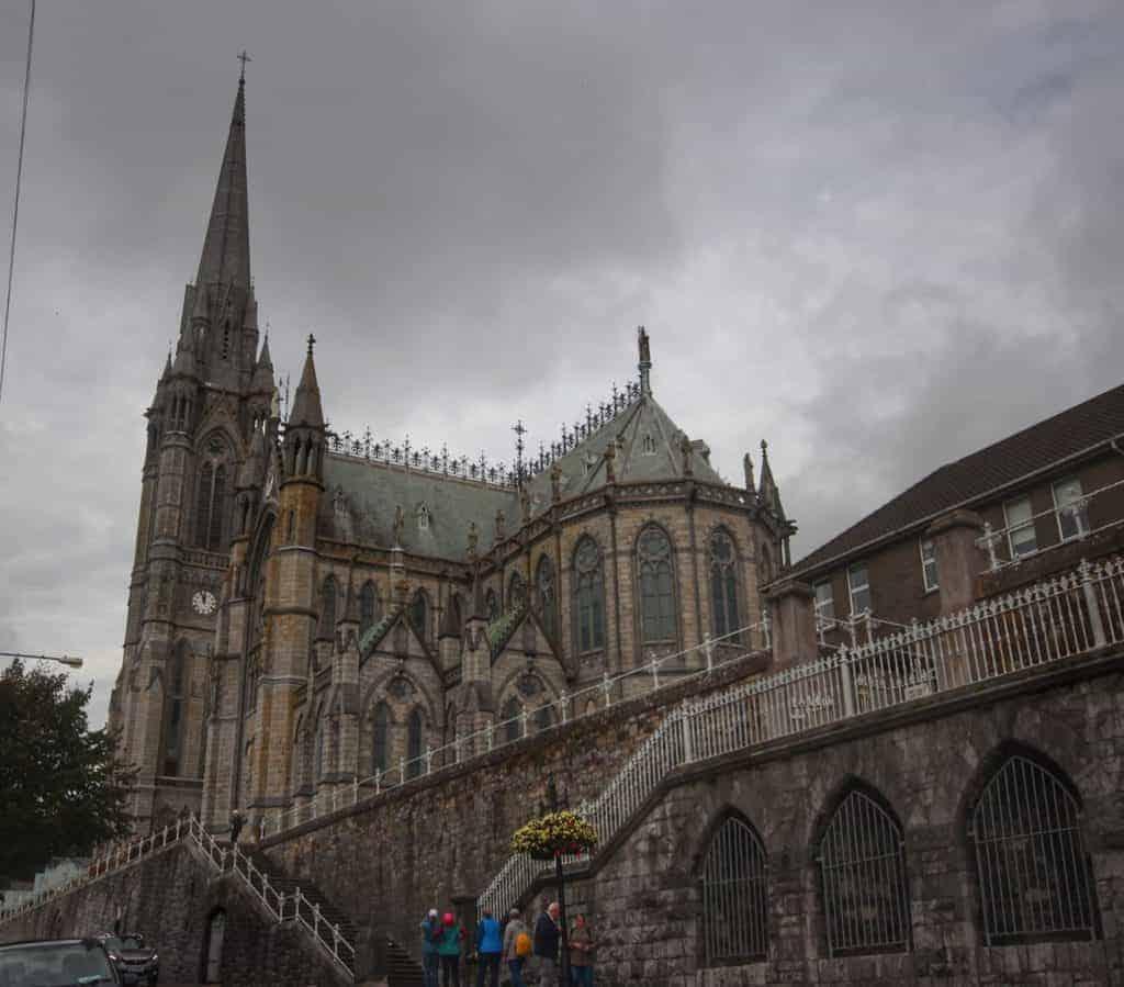 St Colman's Cathedral Cobh, Ireland Disney Magic Transatlantic cruise
