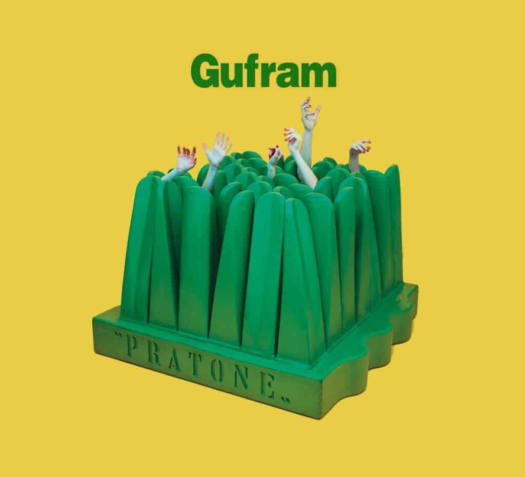 Gift. GUFRAM, Pratone, lounge chair, 1971