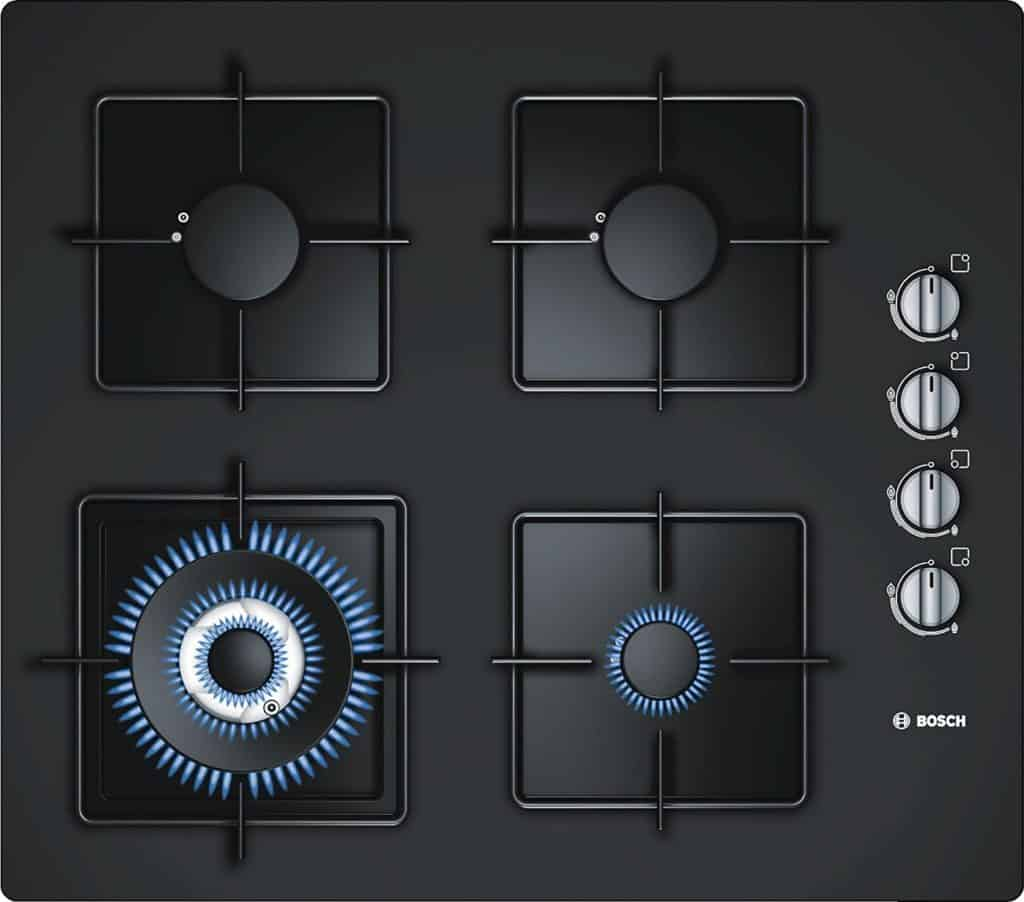 Bosch Tempered Glass Gas Hob