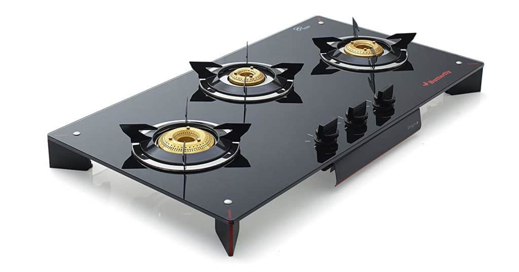 Butterfly Prism - Best 3 Burner Gast Stove in India