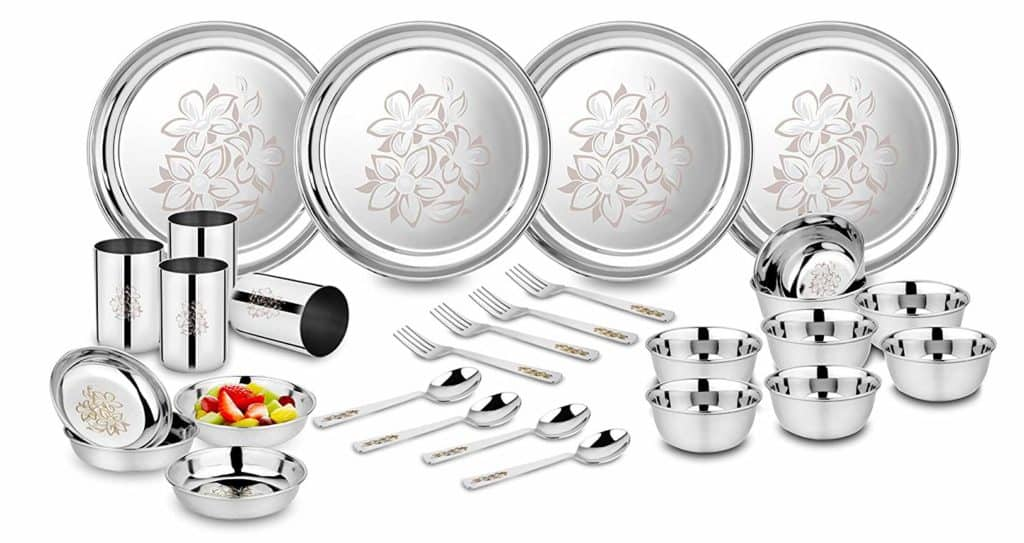 Classic Essentials Stainless Steel Dinner Set Review