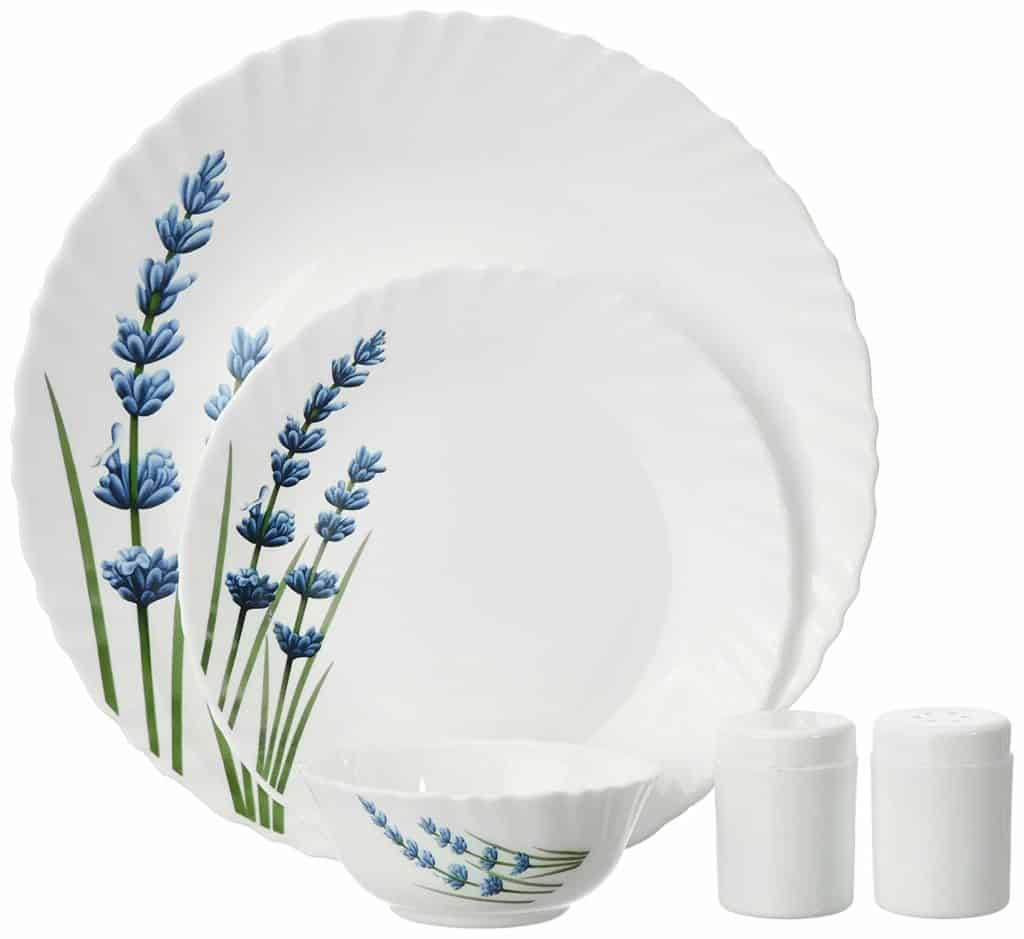 La Opala English Lavender Dinner Set Review