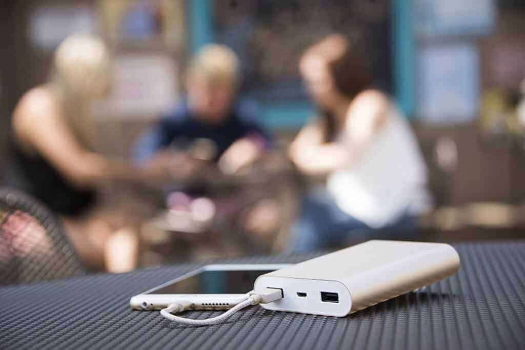 Charge your devices anytime, anywhere. The mycharge portable power bank.