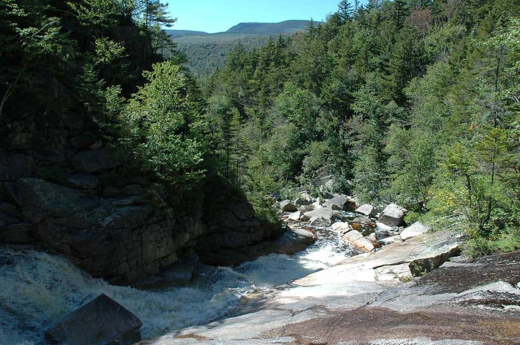 From alpine cascades to hidden waterfalls, explore these 5 scenic waterfall hikes in the White Mountains of New Hampshire that everyone can do.