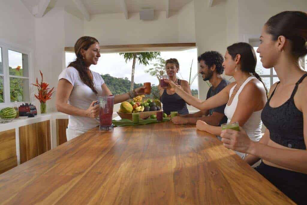 The Retreat Costa Rica healthy kitchen