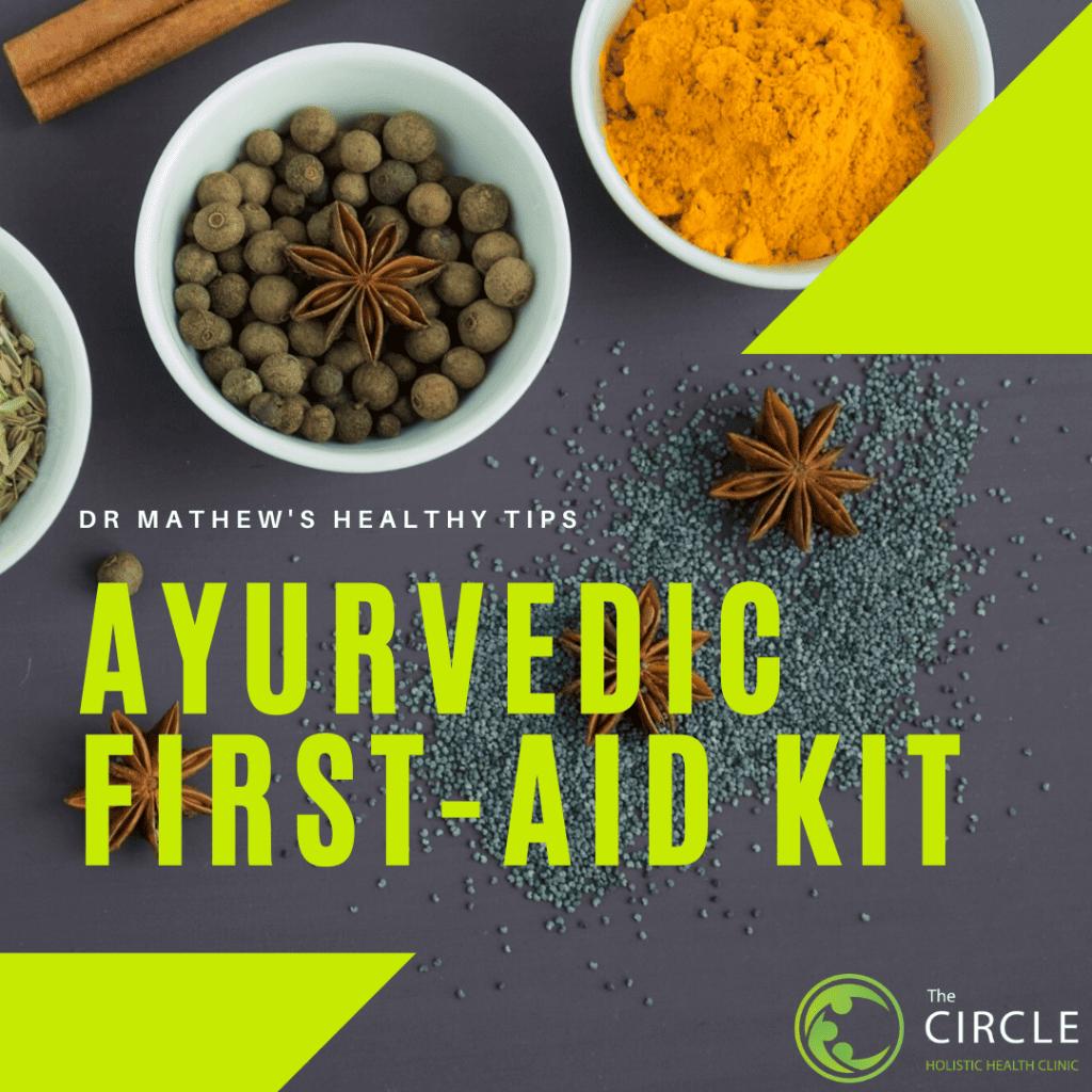 Ayurvedic First Aid Kit