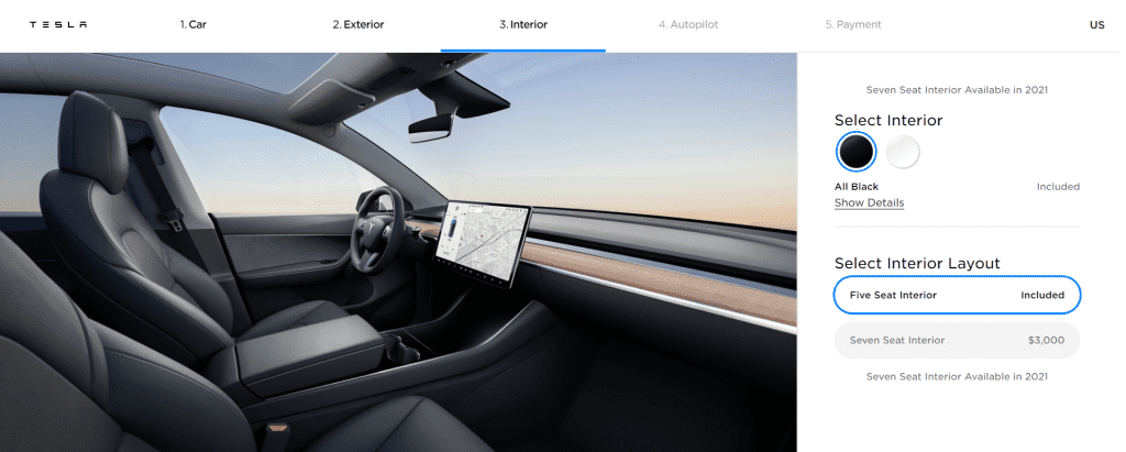Does Tesla Model Y Have 7 Seater Third Row?