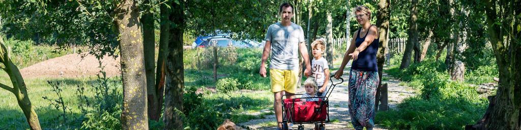 Natuurlodges De Vier Eiken Drenthe wandelen